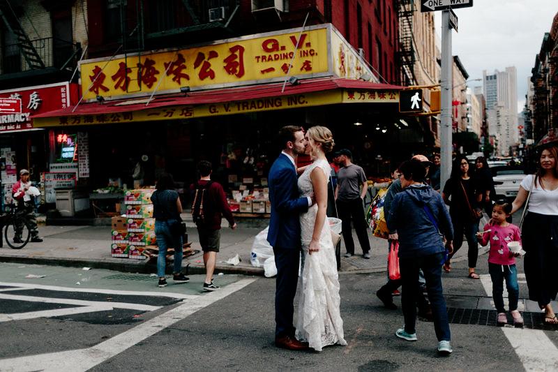 China Town NYC Wedding Photos